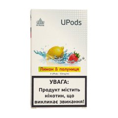 Картридж для Juul UPods - Strawberry Lemon 50 mg 0.7 ml 4 шт фото товара