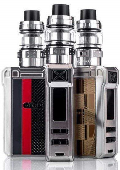 Вейп VOOPOO Alpha Zip 180W TC Kit with Maat Tank Locomotive
